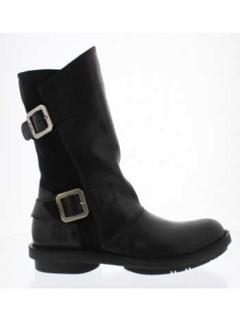 Сапоги Fly London Fold  warm black